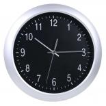 часы интерьерные Бюрократ WallC-R02P, серебристые