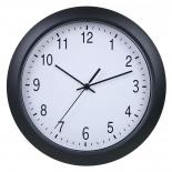 часы интерьерные Бюрократ WallC-R02P, черные