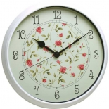 часы интерьерные Бюрократ WallC-R23P, белые
