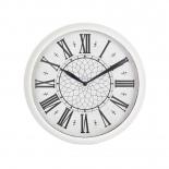 часы интерьерные Бюрократ WallC-R26P, белые