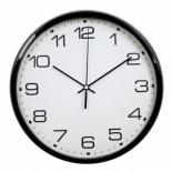 часы интерьерные Бюрократ WallC-R07P, черные