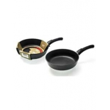 сковорода Нева Металл Домашняя 7322, черная