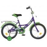 велосипед Novatrack Urban 16 (2016), фиолетовый