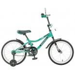 велосипед Novatrack Boister 16 (2016), зелёный