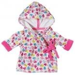 одежда для кукол Халат с капюшоном Baby born
