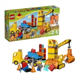 конструктор Lego Duplo Большая стройплощадка (67 дет)