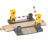 товар для детей Eichhorn Железнодорожный переезд с шлагбаумом