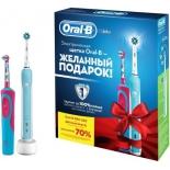 зубная щетка Oral-B PRO 500 и Vitality Frozen Kids (электрическая)