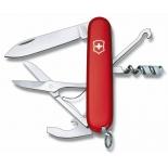 нож перочинный Victorinox Compact 1.3405, красный, 91мм