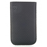 чехол для смартфона Norton, универсальный с ремешком, размер t (60x124x14 мм), чёрный перфорированный