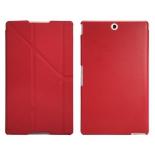 чехол для планшета IT Baggage для Sony Xperia Tablet Z3 8'', иск.кожа, пластик, красный