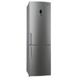 холодильник LG GA-M589 ZMQZ, серебристый
