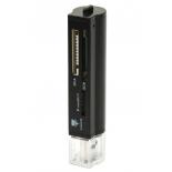 устройство для чтения карт памяти Konoos UK-31, USB 3.0, SD/MMC/SDHC/MS/TF, чёрный