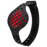фитнес-браслет Moov Now, черный/красный