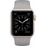 Умные часы Apple Watch Series 2 38mm, серо-золотистые