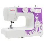 Швейная машина Janome LW-17, белая/ рисунок