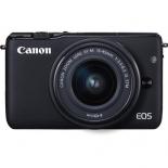 цифровой фотоаппарат Canon EOS M10 Kit (EF-M 15-45mm IS STM), черный