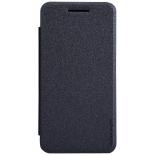 чехол для смартфона Nillkin Sparkle leather case для Asus ZenFone 4 (A450CG), кожа, чёрный