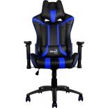 компьютерное кресло Aerocool AC120-BB, черно-синее