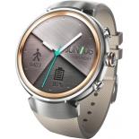 Умные часы Смарт-часы Asus ZenWatch 3 WI503Q Silver/Rubber Strap Beige