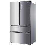 холодильник Haier HB25FSSAAARU, серебристый