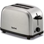 тостер Tefal TT 330D30, серебристый/черный