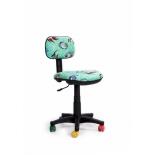компьютерное кресло Recardo Junior D12 Рыбы, бирюзовое