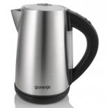 чайник электрический Gorenje K17TRE, серебристо-черный