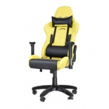 игровое компьютерное кресло Speedlink REGGER Gaming Chair, жёлтое
