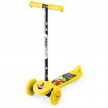 самокат для взрослых Small Rider Cosmic Zoo Scooter желтый