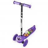 самокат для взрослых Small Rider Cosmic Zoo Scooter фиолетовый