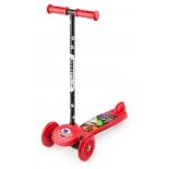 самокат для взрослых Small Rider Cosmic Zoo Scooter красный