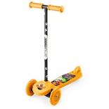 самокат для взрослых Small Rider Cosmic Zoo Scooter оранжевый