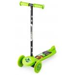 самокат для взрослых Small Rider Cosmic Zoo Scooter зеленый