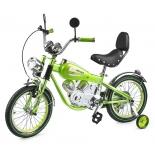 велосипед Small Rider Motobike Vintage зеленый