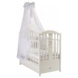 детская кроватка Feretti Romance, белая
