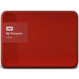 жесткий диск Western Digital MY Passport ULTRA 1000 Gb (WDBDDE0010BBY-EEUE), красный