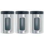 контейнер для продуктов Brabantia 247286, нержавеющая сталь