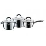 набор посуды для готовки Rondell Flamme RDS-341 серебристый