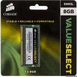 Модуль памяти Corsair CMSO8GX3M1C1600C11 (8Gb DDR3L SODIMM, 1600 MHz), купить за 4 130руб.