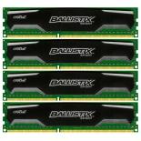 модуль памяти Crucial BLS4CP8G3D1609DS1S00BEU (DDR3 4x8 Гб, 1600 МГц, DIMM)