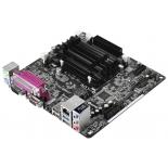 материнская плата ASRock J3160B-ITX (Intel Celeron J3160,  mini-ITX, Max 16 Gb)