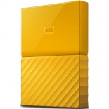 жесткий диск Western Digital My Passport 1 TB (WDBBEX0010BYL-EEUE), желтый