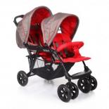 коляска Baby Care Tandem (для двойни), красная