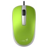 мышка Genius DX-120 Spring USB, зеленая