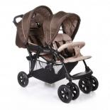 коляска Baby Care Tandem (для двойни), серая
