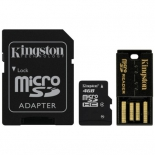 карта памяти Kingston MBLY4G2/4GB class 4 Mobility Kit