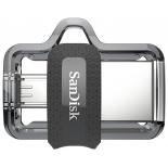 usb-флешка SanDisk Ultra Dual Drive m3.0 32Gb, черная