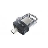usb-флешка SanDisk Ultra Dual USB Drive 3.0 128Gb, черная