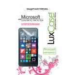 защитная пленка для смартфона LuxCase  для Microsoft Lumia 640 XL / 640 XL Dual (Антибликовая), 158х81 мм